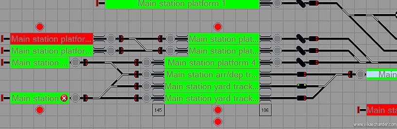 Abendstern Computer Control main station block diagram
