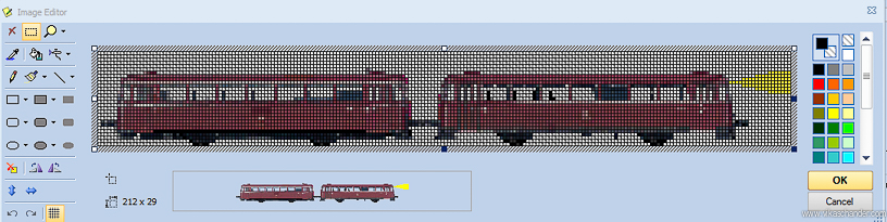 Abendstern Computer Control train animator image