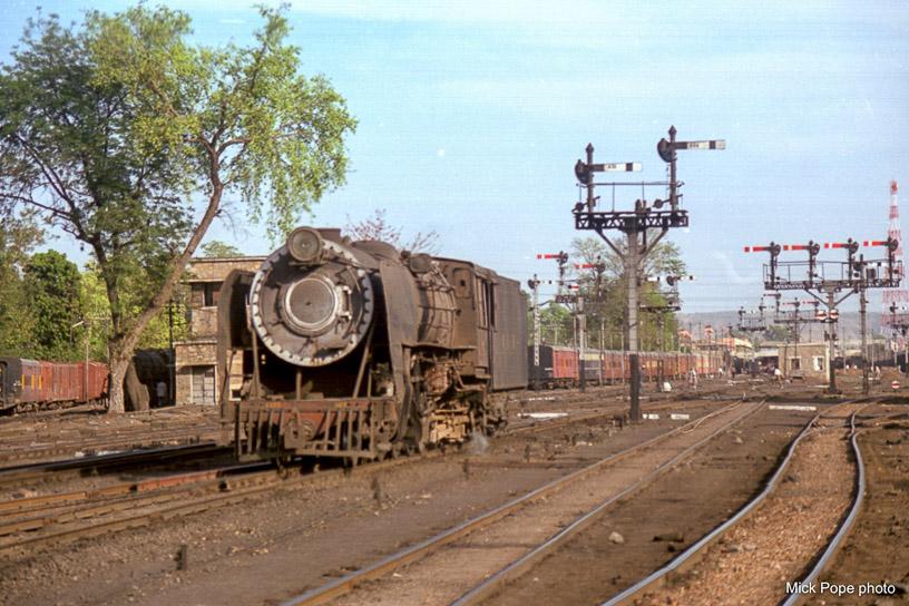 Shekhawati Express blog - Majority of the services were steam hauled