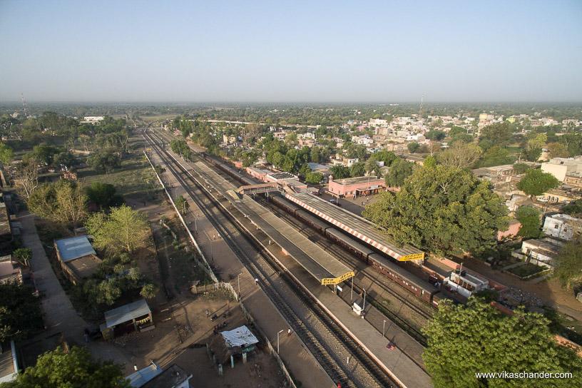 Shekhawati Express blog - Overview of RIngus station