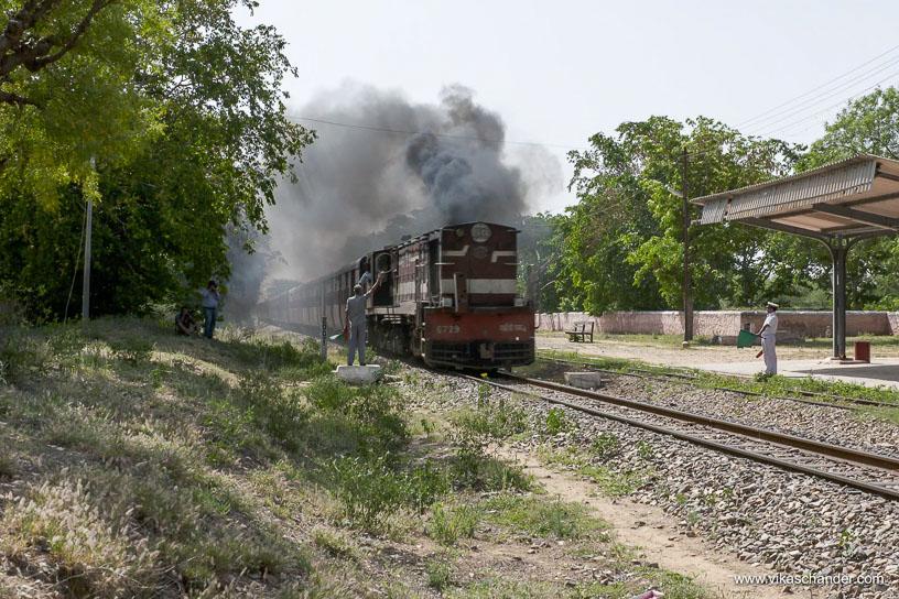 Shekhawati Express blog - Seems a scary job to me