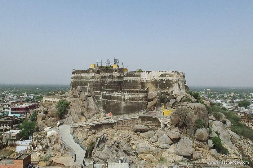 Shekhawati Express blog - The fort at Lakshmangarh