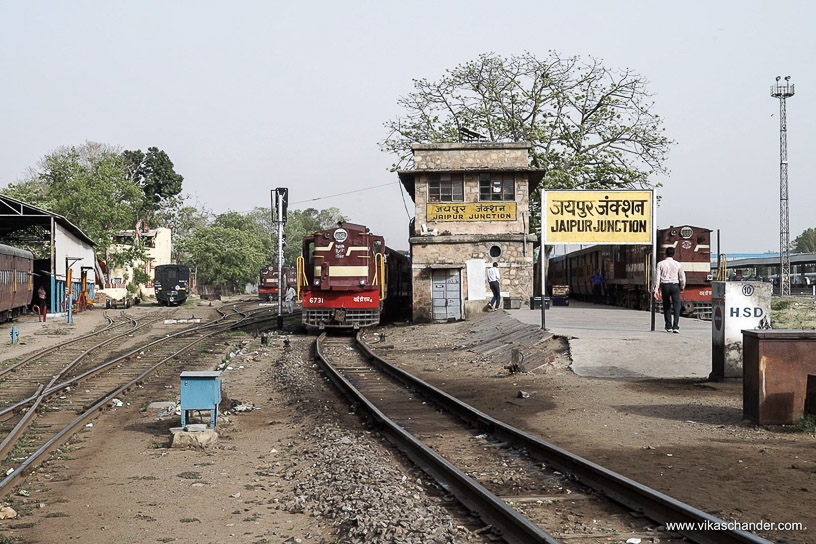 Shekhawati Express blog - The origin of the Meter gauge line to Churu